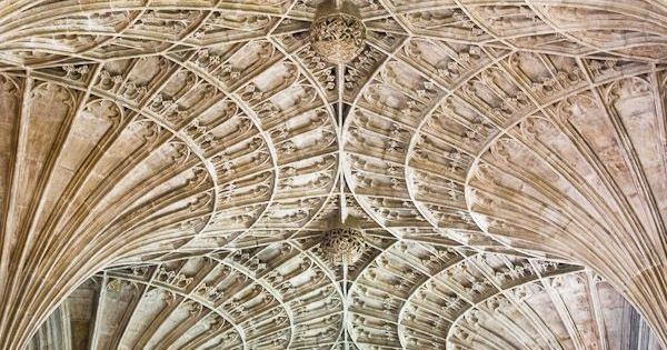 Perpendicular fan vaulting peterborough cathedral for Cathedral ceiling definition