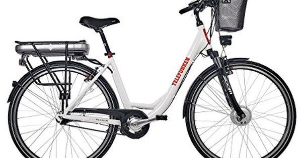Telefunken E Bike Damen 28 Zoll Elektrofahrrad Alu In Weiss Mit 7