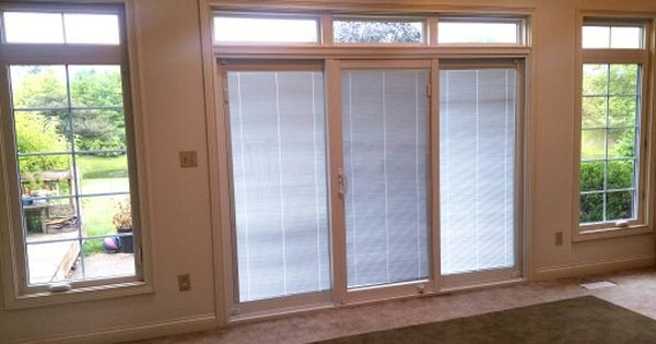 This Is The Brand New Alside 9 Foot Vinyl Sliding Patio Door With Internal Blinds The Door Is Also Fl Vinyl Sliding Patio Door Sliding Patio Doors Patio Doors