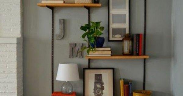 inspiration de jolies tag res d co etagere deco cremaillere et deco bois. Black Bedroom Furniture Sets. Home Design Ideas