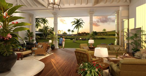 Beautiful Open Plantation Style Living Space In Paradise