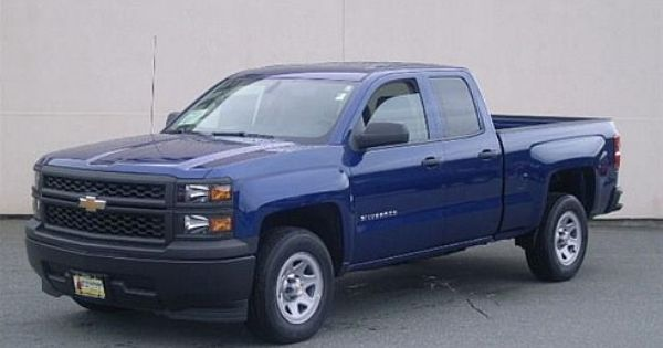 Chevy Silverado 2014 Blue 2014 Chevrolet Silverado 1500 Work
