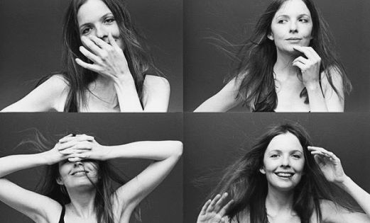 Diane Keaton | by Norman Seeff Los Angeles 1975 clickaway