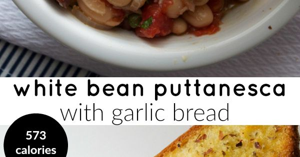 White beans, Beans and Meals on Pinterest