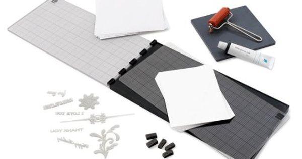 63 Lifestyle Crafts Letterpress Starter Kit Letterpress Craft Supplies Online Paper Craft Supplies