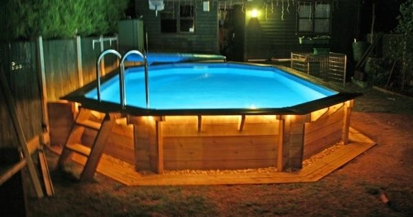 Free swimming pool deck design pictures with how to build a above ground pool deck building tips - Expert tips small swimming pools designs ...