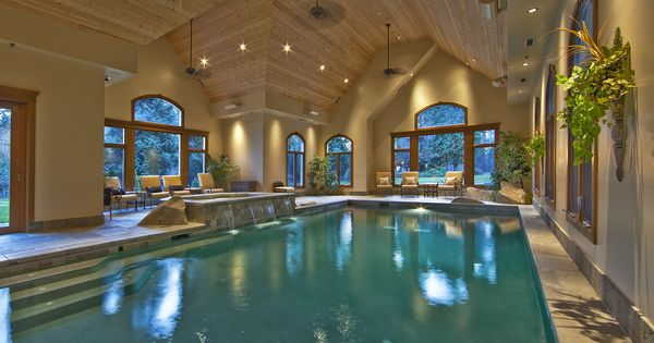Umm this puts the dream in dream home macpherson for Indoor pool construction
