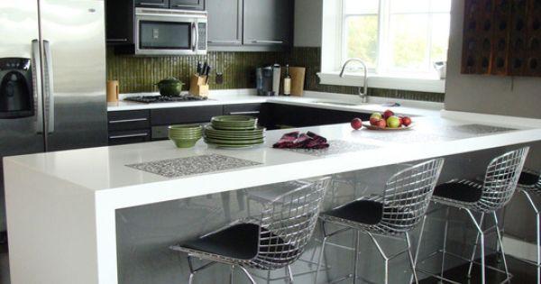 Not Going Granite Considering Quartz Surfacing White Kitchen