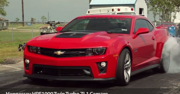 Hennessey Twin Turbo Camaro Zl1 Hpe1000 Quarter Mile