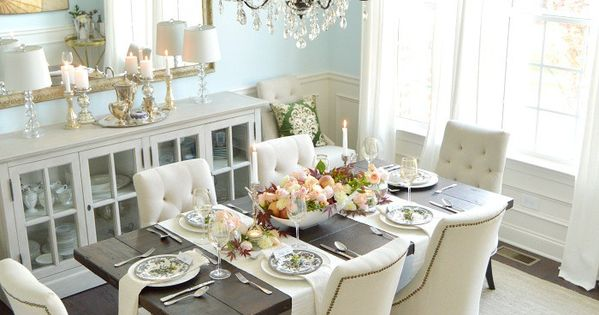 An Honorary Mother S Day Table Blue Dining Rooms