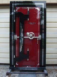 Restored Mosler Safe Vault Door Vault Doors Safe Vault Doors