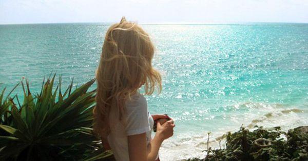 The sun, the sand + the sea