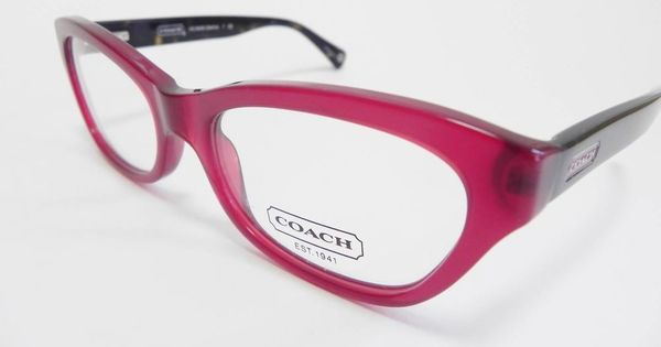 Coach Eyeglass Frames Red : Coach Eyeglasses HC6045 6045 DAHLIA Red Black 5147 New ...