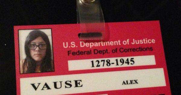 Inmate ID- Alex Vause   Future home ideas   Pinterest ...