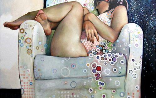 jaloezie (jealousy), painting by caroline westerhout, 2009 art painting carolinewesterhout 2009