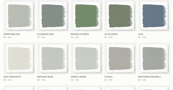 Joanna gaines 39 magnolia home paint line around the house for Magnolia home paint colors