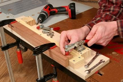 How To Make A Table Saw Taper Jig Taper Jig Make A Table Jig