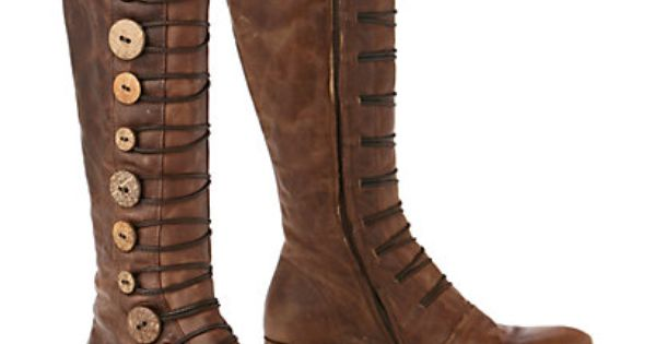 Button Brigade Boots