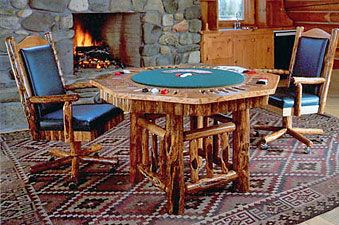 One Of A Kind Hand Crafted Rustic And Western Style Custom Game