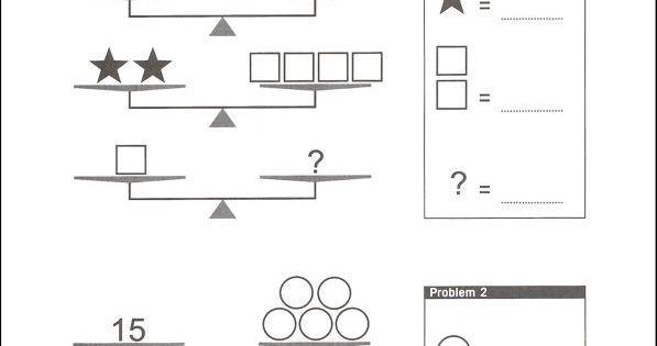 how to use a balance scale to teach algebra