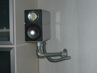 Custom Speaker Mounts Blog Projects Ideas Inspiration Kee Klamp Fittings Speaker Wall Mounts Speaker Mounts Diy Vanity Mirror