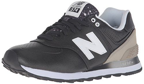 New Balance Women's WL574 Gradiant Pack Running Shoe, Bla ...