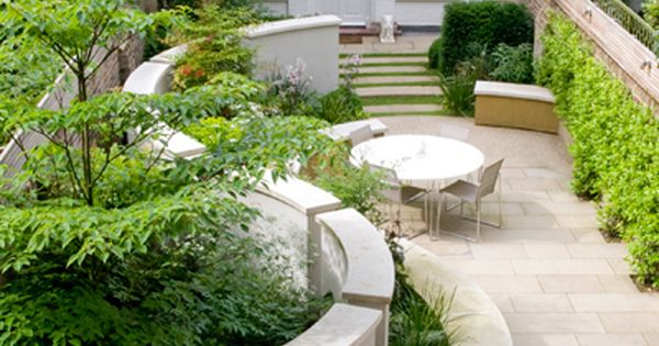 Landscape design by andy sturgeon love the contrast curve for Surface design landscape