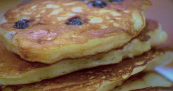 Blueberry Buttermilk Pancakes Recipe Blueberry Buttermilk Pancakes Food Network Recipes Blueberry Pancakes Recipe