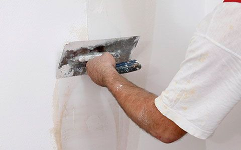 We Offer Superior Quality Wall Putty Which Is Pure White In Color And Very Easy To Apply We Leading Wall Putty Suppliers Drywall Installation Wall Repair