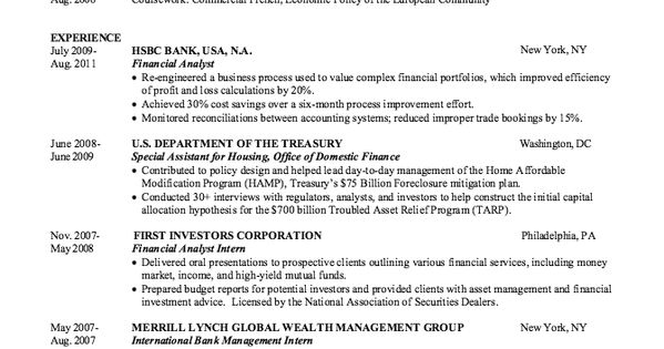 Sample CV for Bank for Fresher Resume -    resumesdesign - treasury analyst sample resume