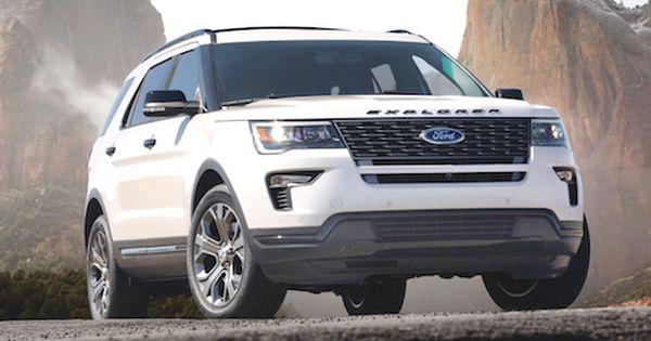 2019 Ford Explorer Hybrid Ford Explorer Ford Explorer Sport