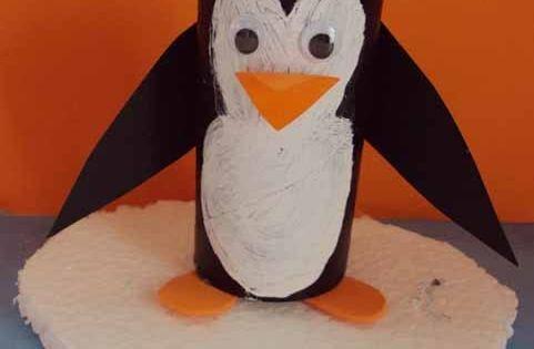 pingouin r 233 alis 233 par lison avec un rouleau de papier wc explications sur mon http