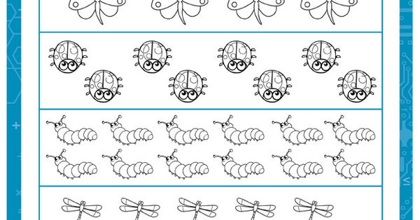 Insect Fractions u2013 Find One Fourth - Fractions Worksheet for First Grade FREE : 1st Grade ...