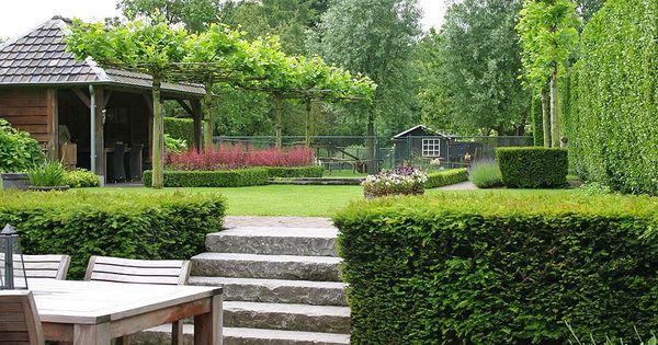 Tuinontwerp tuinontwerpen door tuinarchitect tuinontwerper zuid limburg brabant tuin - Tuin grind decoratief ...