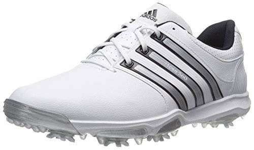 Día proyector instante  adidas-men-s-tour360-x-cleated-golf -shoe-grey-running-white-bahia-blue-11-5-m-us