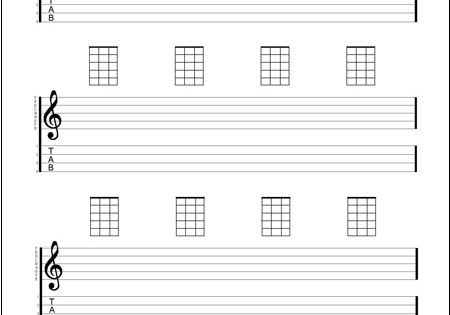 Ukulele : blank ukulele tablature sheets Blank Ukulele , Blank Ukulele Tablatureu201a Blank Ukulele ...