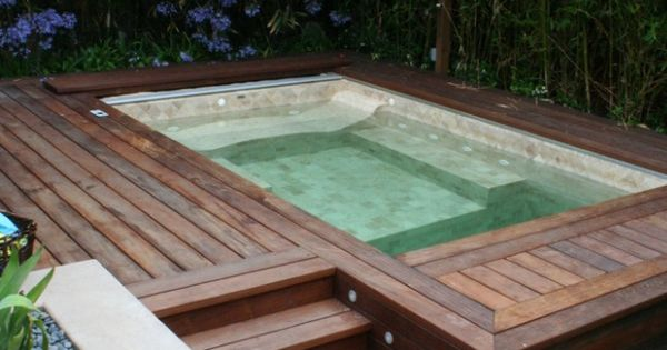 Amazing Hot Tub With Lovely Timber Deck In Australia A Pool Fence Would Have To Be Installed