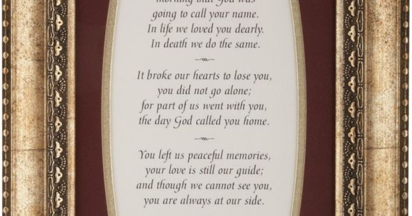 Quot The Broken Chain Bereavement Poem By Ron Tranmer