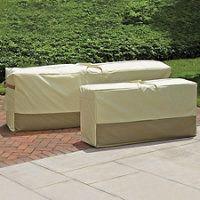 earthtone cushion storage bag patio