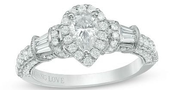 1.18 CT Black Pear Cut Diamond For Engagement Ring