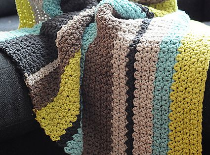 Stripe Pattern Generator Knitting : Ravelry: HaileeBees Striped Boy Blanket Knitting / Crochet Pinterest...