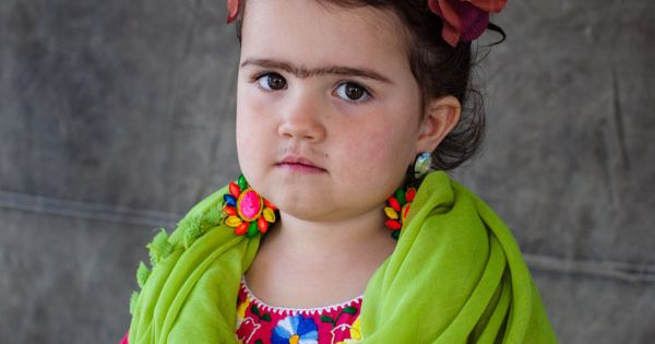 Frida Kahlo Costume halloween children kids costume fridakahlo