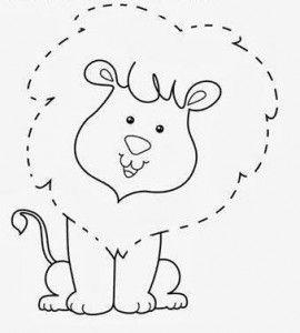 17 Moldes De Animalitos Para Hacer Figuras En Foami Y Fieltro Haz Manualidades Molde De Animales Fichas Animales Para Imprimir