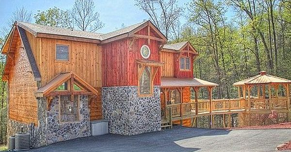 Majestic springs lodge 3 bedroom cabin rental pigeon for Premier smoky mountain cabin rentals