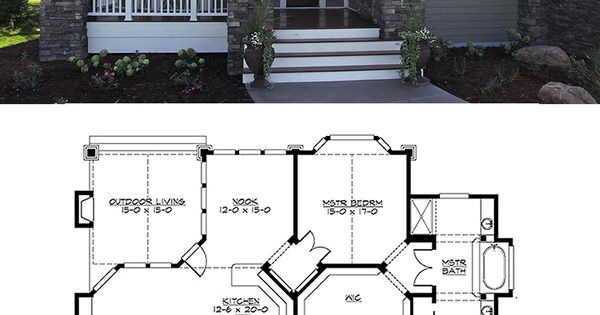 Craftsman Plan #132-200. Great Bones. Could Be Changed To