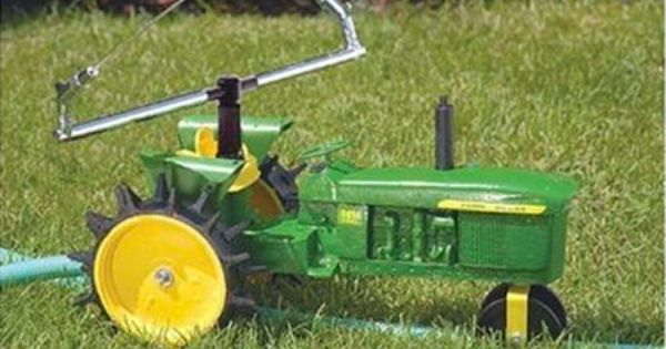 Tractor Sprinkler Shut Off : The gilmour traveling sprinkler is a cast iron green and