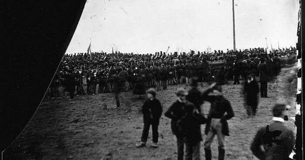 Photos Of The Gettysburg Address The Speakers Platform