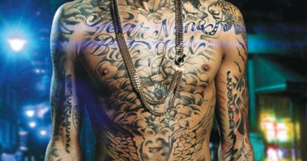Tyga. Via UrbanInk.com : The Tattoo Website For People Of