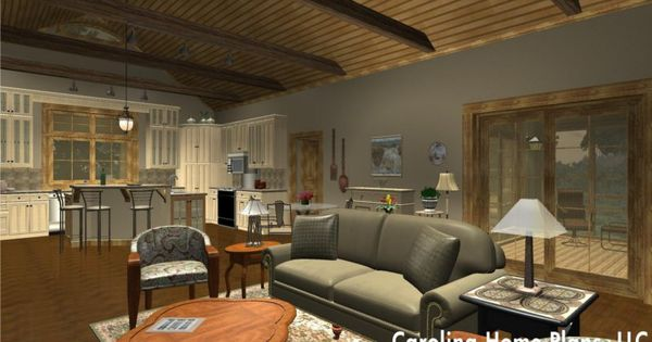 Open floor plan cathedral ceiling great room and split for Cathedral ceiling definition