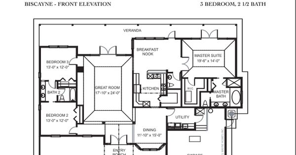Daniel wayne homes biscayne model popular floor plans Wayne homes floor plans